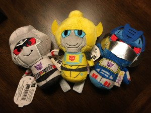 Transformers News: Transformers Itty Bittys Plush Spotted at Hallmark