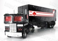 Transformers News: Artist Toys Trailer for MP1B Convoy Black Version