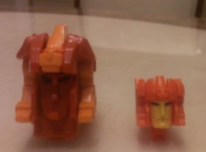 Transformers News: Pictorial Review of Titans Return Sawback with Comparison to G1 Lione