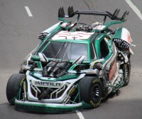 Transformers News: Seibertron.com Exclusive Look at Transformers 3 Stunticons in Action