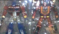 """Transformers News: """"Sons of Cybertron"""" Clear Classics Deluxe Prime and Rodimus Revealed"""
