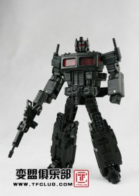 Transformers News: Auction for Rare Deluxe Classics Optimus Prime Prototype