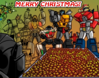 """Transformers Mosaic: """"The Gift of Friendship."""""""