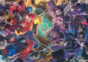 Transformers Cloud Story Chapter Artworks