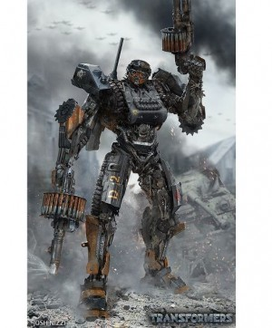 World War 2 Hot Rod Transformers: The Last Knight Concept Art