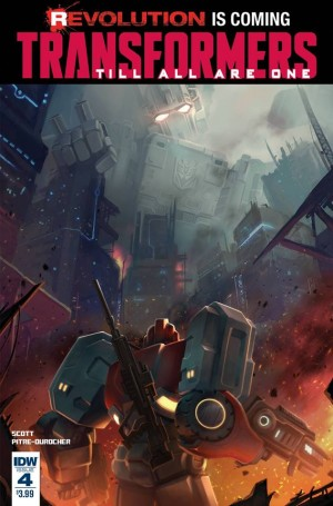 Transformers News: Sneak Peek - IDW Transformers: Till All Are One #4 iTunes Preview