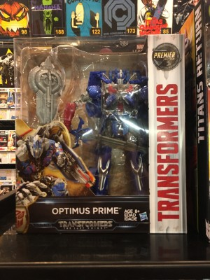 Transformers: The Last Knight Leader class Optimus Prime Sighted at US Retail