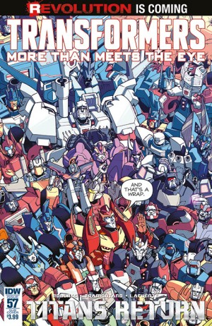 IDW More Than Meets The Eye #57 Review