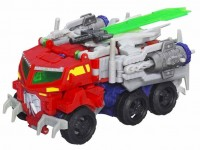 Transformers News: Transformers Prime Beast Hunters Voyager Beast Optimus Prime Revealed