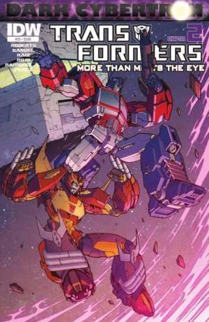Transformers News: IDW Transformers: More than Meets The Eye #23 (Dark Cybertron 2 of 12)