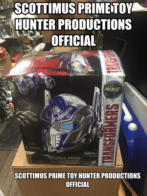 Transformers News: Transformers 5: The Last Knight Optimus Prime Helmet Found at US Retail