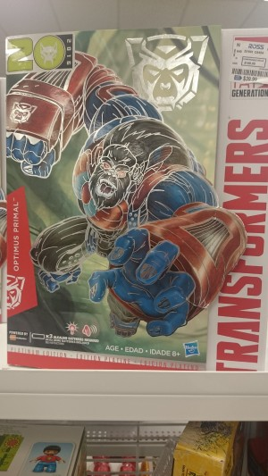 Transformers News: Year of the Monkey Optimus Primal Found at $39.99 at Ross