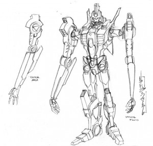 IDW Transformers: More Than Meets the Eye #34 Froid and Terminus Character Design by Alex Milne