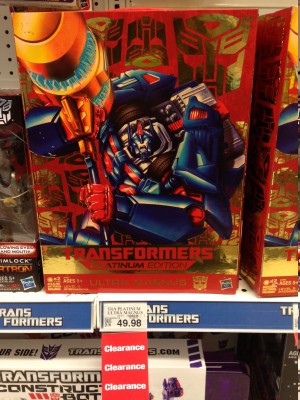 Transformers News: Transformers Platinum Edition Ultra Magnus on Clearance at Toys'R'Us