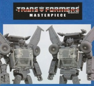 Transformers News: TakaraTomy Transformers MP-25 Tracks and MP-26 Road Rage Comparison