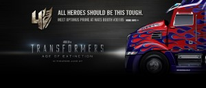 Transformers News: Meet Transformers: Age of Extinction Optimus Prime at the Mid-America Trucking Show