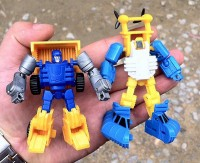iGear Mini Warriors Rager and Spray Fully Painted