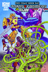 Transformers News: New IDW Transformers vs G.I. Joe Ongoing to Debut on Free Comic Book Day 2014