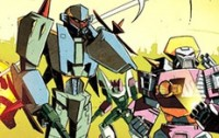 Transformers News: BotCon '13 Comic Preview Page