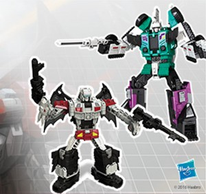 Transformers News: New image of Titans Return Deluxe Class Doublecross revealed by Toys R Us Canada