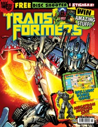 Transformers News: Titan Transformers Comic 2.18 on sale Oct. 7th in the UK
