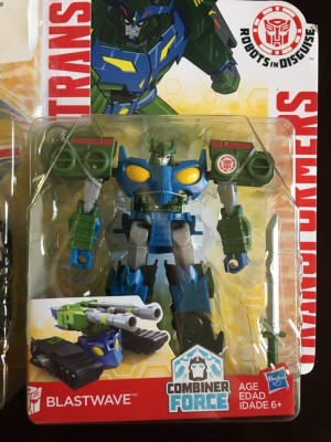 Transformers News: Robots in Disguise Warriors Blastwave, Stormshot and Alpine Strike Drift found in US Retail