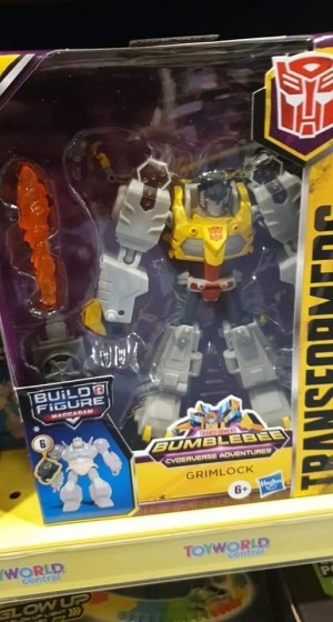 Transformers Cyberverse Deluxe Class Grimlock And Hot Rod Found At Australian Retail