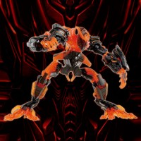 Transformers News: Clearer Pictures and Listing for Wonderfest The Burning Fallen Crystal Version
