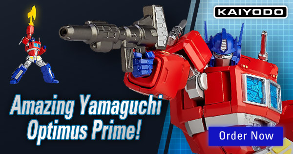 Transformers News: Weekly HobbyLink Japan (HLJ) Newsletter with Amazing Yamaguchi Optimus Prime