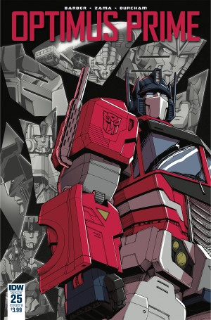 Review of IDW Transformers: Optimus Prime #25