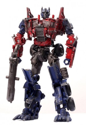 Transformers News: MILK Magazine Transformers: Age of Extinction Evasion Mode Optimus Prime Custom