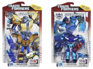 Transformers News: Video Reviews: Transformers Generations 30th Anniversary Deluxe Goldfire and Dreadwing