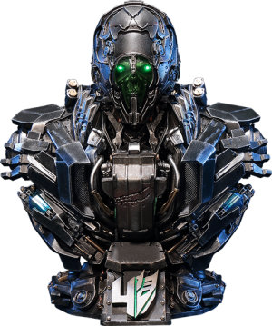 Transformers News: Prime 1 Studio Age of Extinction Lockdown Bust