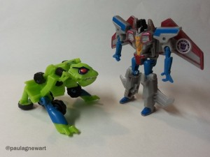 Transformers News: Video Reviews of Transformers Robots in Disguise Combiner Force Legion Starscream and Springload