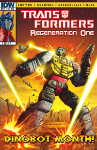 Transformers News: Transformers: Regeneration One #82 Preview