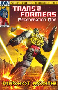 Transformers News: Transformers: Regeneration One #82 Preview
