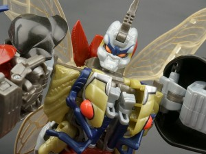Transformers News: New Galleries: Beast Wars II X-3 Tripledacus with DJ, Gimlet and Motorarm
