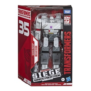 In Package Images of Cell Shaded Transformers Siege Optimus Prime and Megatron, Soundblaster