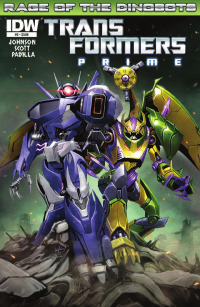 Transformers News: Transformers Prime: Rage of the Dinobots #3 Preview