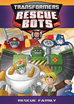 Transformers: Rescue Bots Rescue Family DVD from Shout! Factory