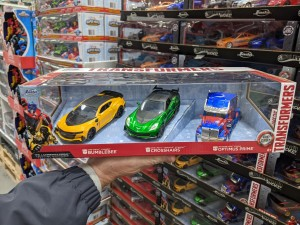 Costco's Seasonal JADA Transformers Product Spotted