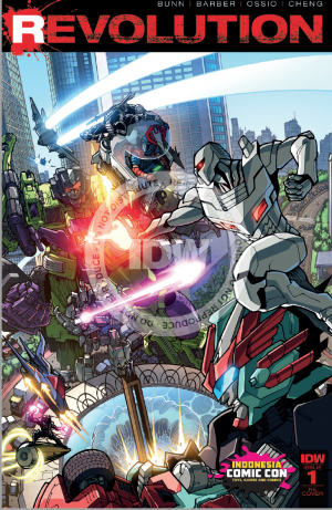 Review of IDW REVOLUTION #1