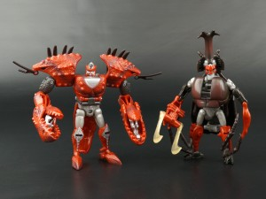 New Galleries: Beast Wars Telemocha TM-12 Gimlet and TM-13 Motorarm