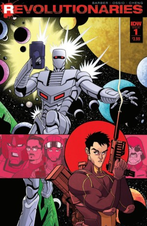 Transformers News: John Barber and Fico Ossio Talk IDW Revolutionaries