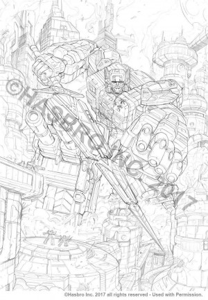 Transformers News: More New Transformers Titans Return Artwork from Ken Christiansen and Marcelo Matere Featuring Blurr, Fortress Maximus, More