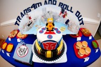 Transformers News: Trans'4'mers Birthday Party Motiff