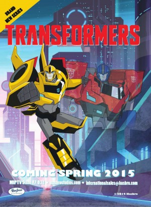 Transformers News: First Look at Transformers 2015 Cartoon Optimus Prime