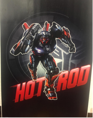 New Transformers: The Last Knight Hot Rod Poster