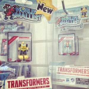 Transformers News: World's Smallest Transformers and Bumblebee Ornament