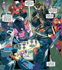 Transformers News: TFSS Characters Comic Preview